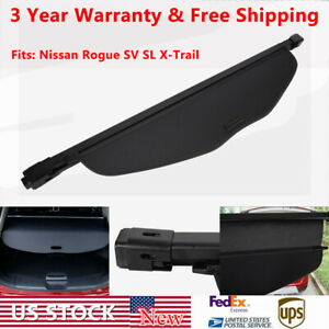 Retractable Car Trunk Cargo Cover Security Shield For 14 18 Nissan Rogue Sv Sl
