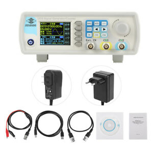 Jds6600 15 60mhz Dual ch Digital Dds Signal Generator Source Frequency Counter