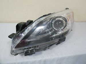 10 11 12 13 Mazda 3 Xenon Hid Front Headlight Light Lamp Left Driver Side Oem