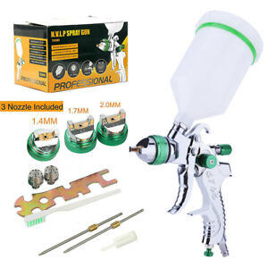 Hvlp Air Spray Gun Set Gravity Car Auto Painting Professional Air Paint Kits