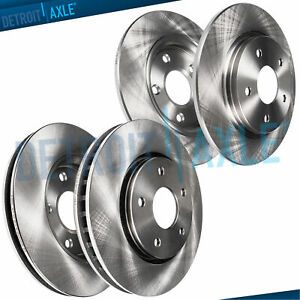 Front Rear Rotors For 1994 1999 2000 2001 2002 2003 2004 Ford Mustang Gt Base