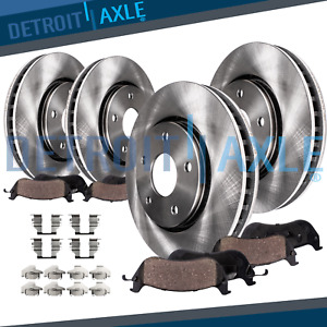 Front Rear Rotors Ceramic Pads 1999 2000 2001 2002 2003 2004 Ford Mustang