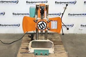 Burgmaster 1d 6 Spindle Power Indexing Turret Drill Press Station