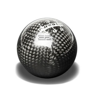 Nrg Racing Ball Style Weighted 5 6 speed Gear Shifter Shift Knob Carbon Fiber