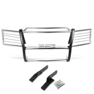 Fit 00 06 Tahoe Suburban 1500 Chrome Stainless Steel Front Bumper Grill Guard