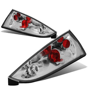 Fit 02 07 Ford Focus 5dr Wagon Chrome Housing Tail Light Rear Brake Parking Lamp