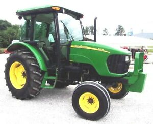 2008 John Deere 5225 Tractor Cab heat air ships 1 85 Per Loaded Mile