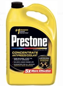 Prestone Extended Life Antifreeze coolant 1 Gallon 3 Pack Total Of 3