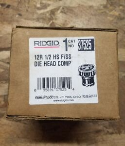 Ridgid Manual Die Head 12r Less Dies Part 37525
