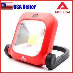 Arclusa Bright Cob Led Rechargeable 360 Rotating Inspection Work Light