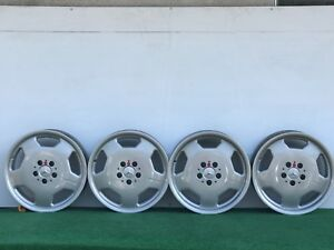 Mercedes Benz Amg Monoblock 17 Genuine Factory Oem Staggered Wheels Rims Set