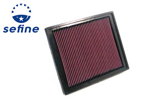 K n Air Filter For 02 11 Saab 9 3 05 09 Vauxhall Signum 05 08 Vectra 33 2337
