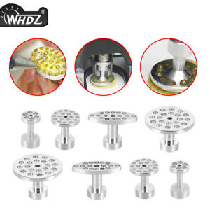 Whdz 8x Car Aluminum Glue Pulling Puller Tabs Paintless Dent Hand Tools Us