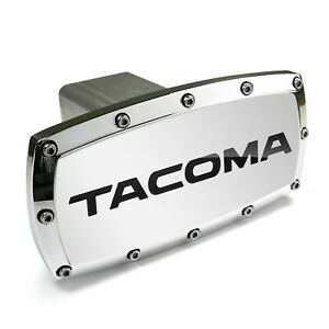 Toyota Tacoma Engraved Billet Aluminum Tow Hitch Cover