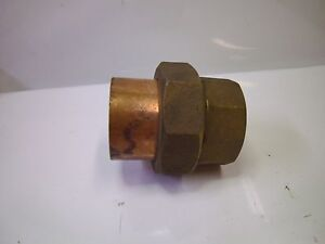 Nibco Copper Brass Union 2 Solder Sweat Joint qty 1 j54831