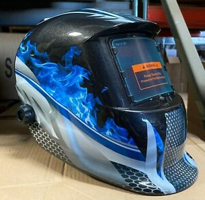 Fsk Certified Mask Auto Darkening Welding Helmet grinding Cheater lens ready
