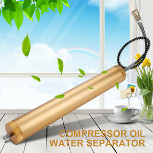 New 30mpa High Pressure Air Pump Compressor Dual tank Oil Water Separator Filter