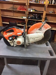 stihl Ts420 14 Wet dry Concrete Cut Off Saw