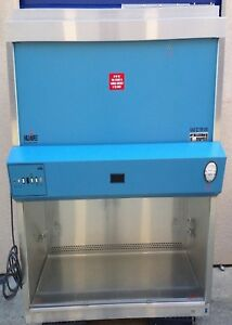 3 Ft Nuaire Biosafety Cabinet Nu 425 300 A2 With Stand New Hepa Filters
