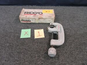 Ridgid No 30 Pipe Tube Cutter Plumbing 1 To 3 Tool Usa Wheel Copper Used