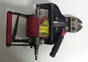 Hk Porter Pneumatic Bolt Wire Cutters Model 9190 Used Free Shipping