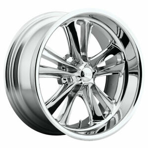 Foose Knuckle F097 Rim 17x8 5x4 75 Offset 1 Chrome Quantity Of 4