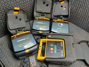 Lot Of 4 Medtronic Lifepak 500t Cr t Aed Training System Defibrillator