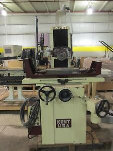 Kent Model Sgs 816mr Manual Surface Grinder Excellent Condition Check Us Out