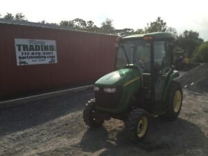 2006 John Deere 3720 4x4 Compact Tractor W Cab