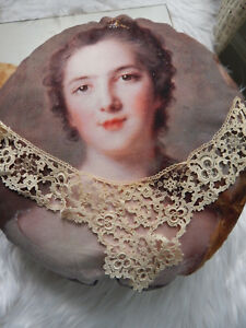 Rare Antique Lace Collar Original Cloth Tag On Paper J H Bluth Dresden Berlin