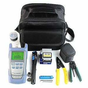 Fibershack 9 In 1 Ftth Fiber Optic Tool Kit English Manual Included