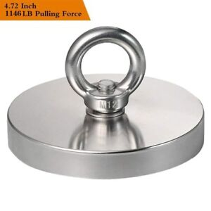 Wukong 1146lbs Pulling Force 520kg Magnetic Grade N52 Round Neodymium Magnet