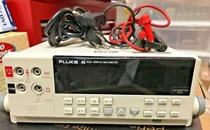 Fluke 45 Dual Display Multimeter With Accessories