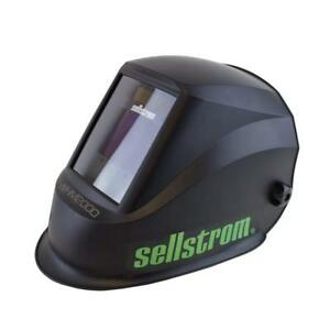 Sellstrom S26200 Advantage Plus Auto darkening Filter adf Welding Helmet