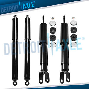 Front Rear Shocks Absorber For 4wd 2000 2006 Silverado Sierra 1500 Tahoe Yukon