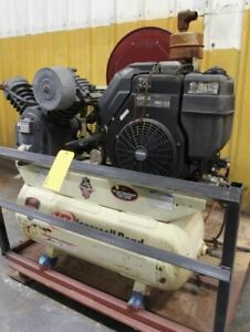 Portable Ingersoll Rand 2 stage Air Compressor Model 2475
