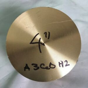4 C360 Brass Bar Stock Round Rod H2 X 3