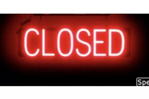 Spellbrite Ultra bright Closed Sign Neon led Sign neon Look Led Performance