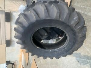 Lot Of 3 Goodyear 14 9x24 Tubeless Universal Tractor Tires one With Rim wheel
