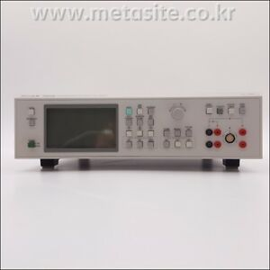 Pm6306 Fluke Lcr Meter 50hz To 1mhz With Fixture