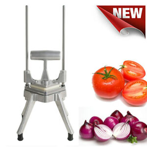 Restaurant Commercial Vegetable Fruit Dicer Onion Tomato Cut Slicer Chopper Fast