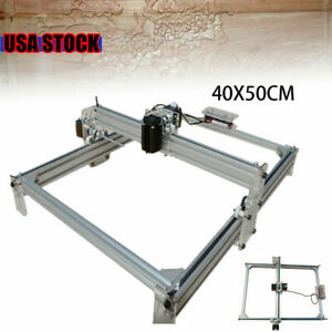 Diy Mini Laser Engraving Machine 500mw Marking Wood Printer Engraver 40x50cm Usa
