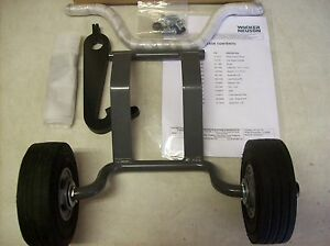 Wacker Wp1550 Wheel Kit Wp1540 Fro Pre 16 Fits Rev 120 And Above Pn 0162986