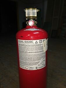 Amerex Is45abc Pressure Actuator Dry Chem Spray Industrial Fire Suppression