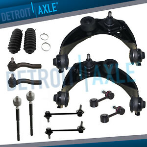 Fwd Front Rear Sway Bar Upper Control Arm Tierod Kit For Ford Fusion Milan