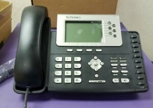 Lot Of 4 Teltronics 2806 Vision I phone 6 Line Ip Business Office Phone