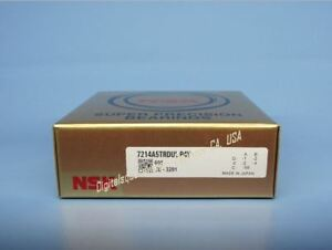 Nsk 7214a5trdul P4y Abec 7 Super Precision Spindle Bearings Set Of Two