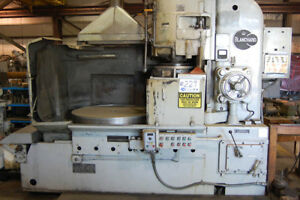 42 Chk 60hp Spdl Blanchard 22k 42 Rotary Surface Grinder Mtrz d Sludge Conveyo