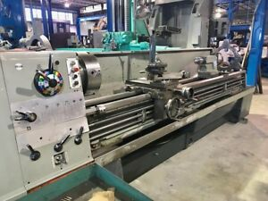 21 Swg 120 Cc Clausing colchester 8118 Engine Lathe Inch metric 3 5 Hole ste
