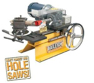 Baileigh Tn 300 New Notcher 110v Tbl Top Hole Saw Tube Pipe Notcher